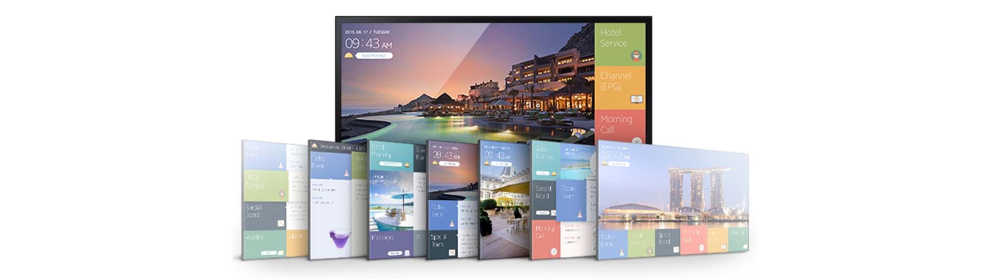Gestor de contenido digital para hoteles.